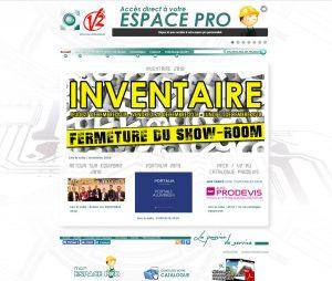 Site de la société AFCA/V2 - www.afca.fr