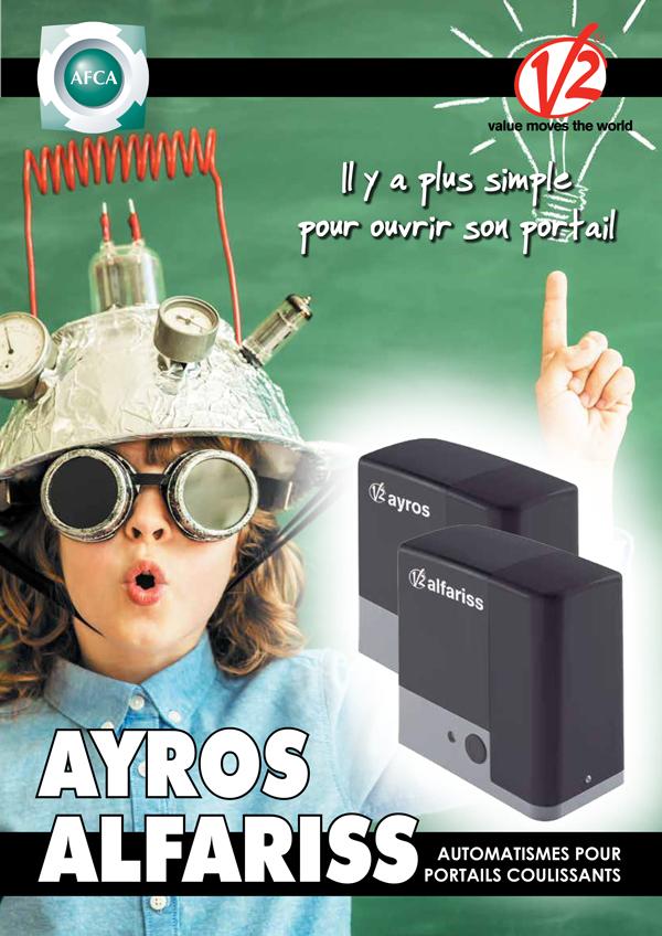 Plaquette des moteurs AYROS & ALFARISS V2